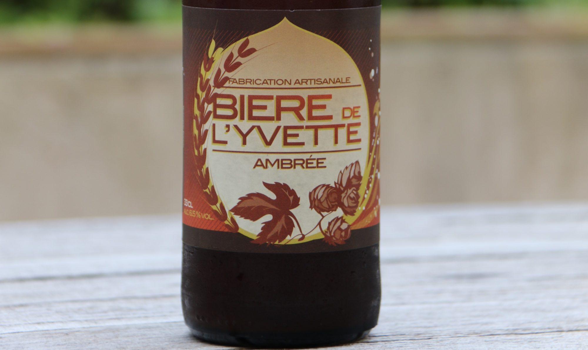 Bière de l'Yvette Ambrée
