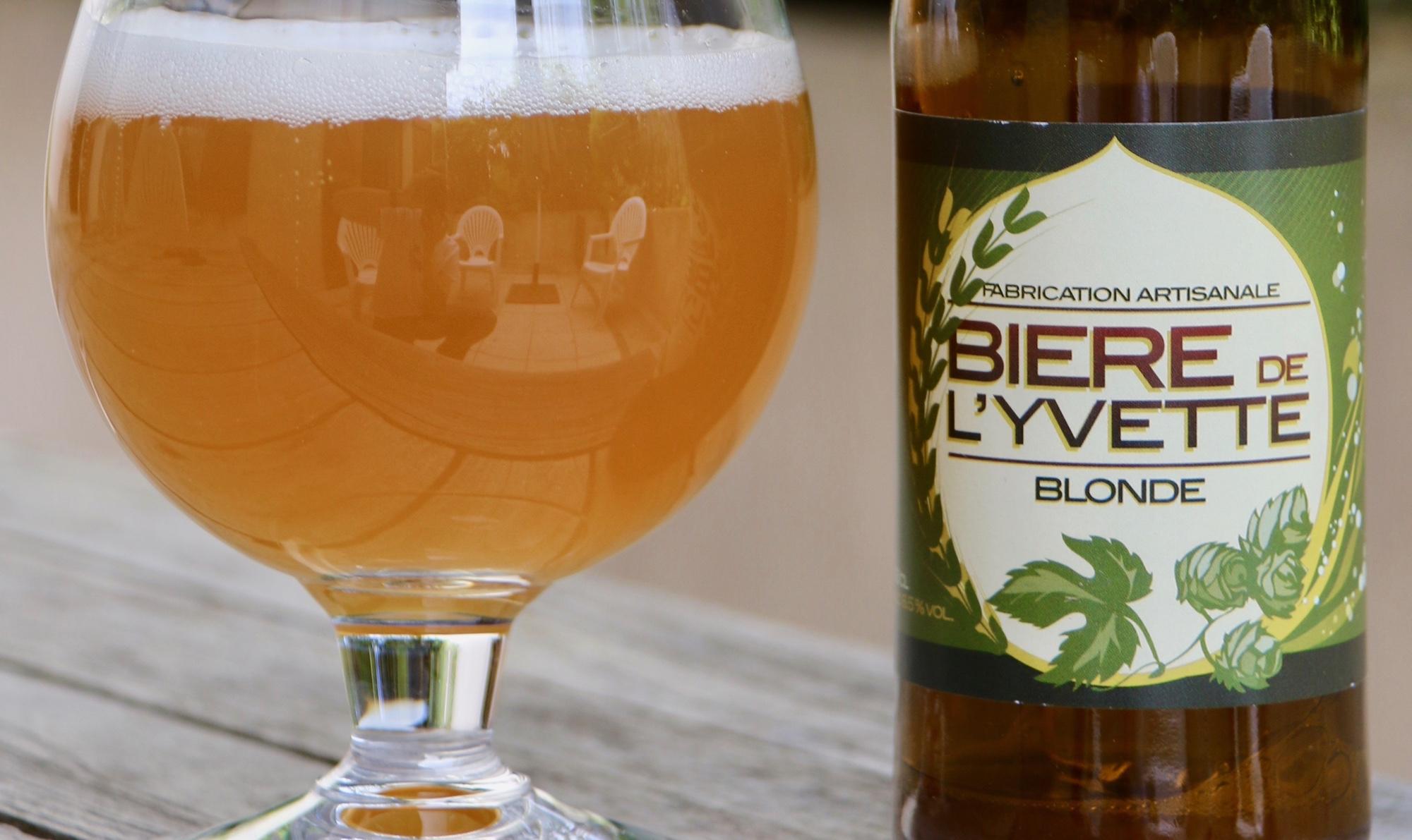 Bière de l'Yvette Blonde