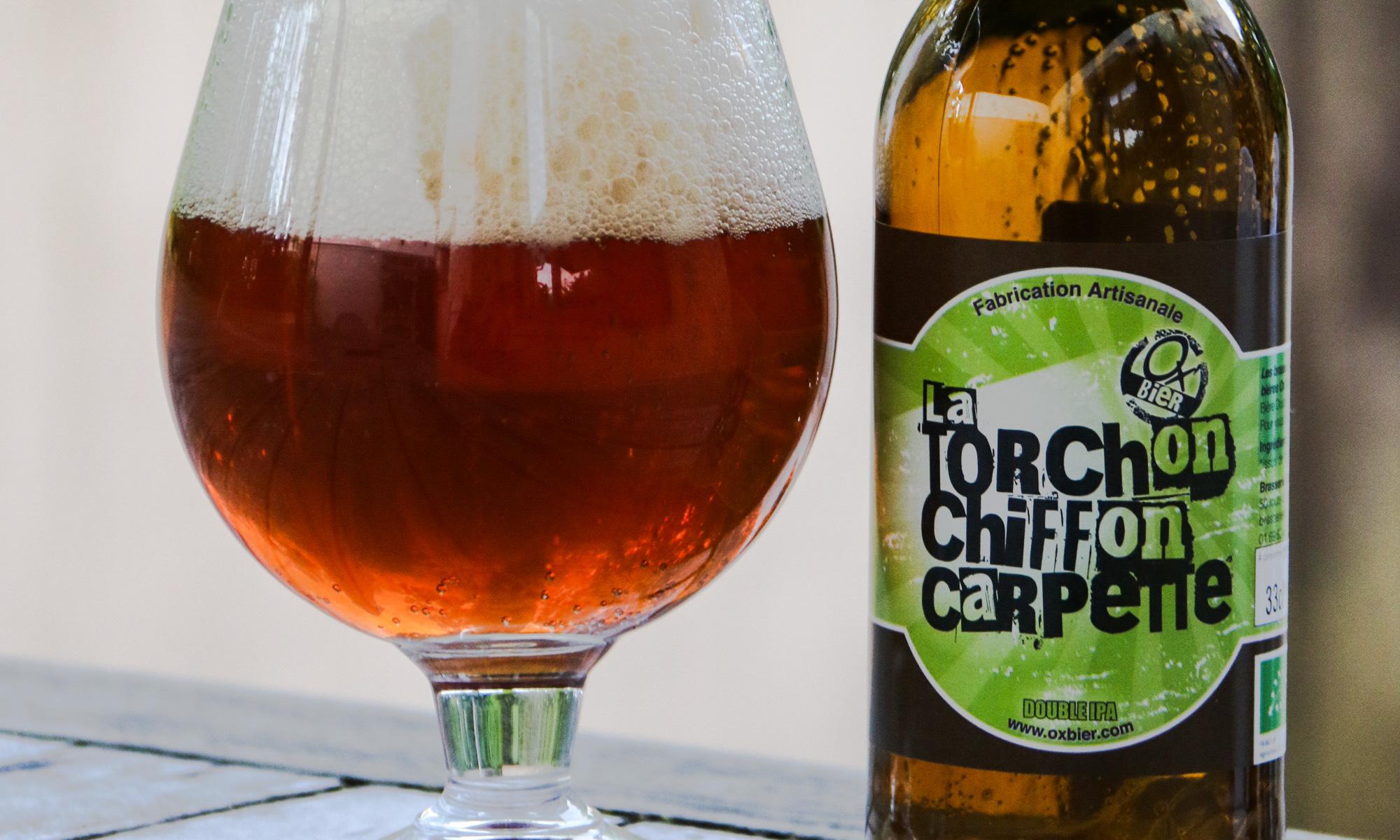 Ox'Bier Torchon chiffon carpette